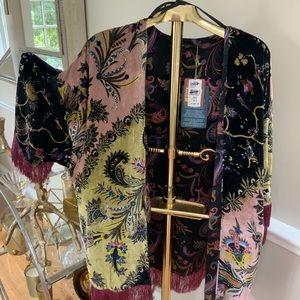 ETRO Paisley fringed Kimono
